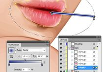 tutorial photoshop vector