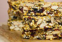 Energy Bars and Granola vegan gluten-free