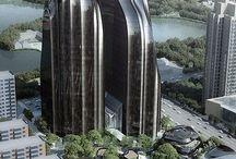 Architecture Futuristic City