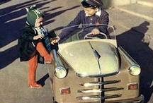 Pedal cars, go-karts, wagons. / by Emil DeGrey