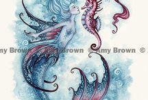 mermaids and ocean lore