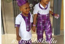 Kids Afrikan Wear