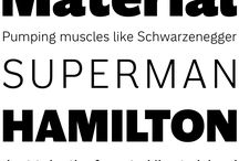 DESIGN — Typefaces