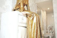 Gold dresses | Luxe | Style / gold dresses, lurex beaded guilded gold wearables / by NATION of VINTAGE