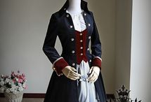 Pirate / Lolita, dresses, tops, skirts, bottoms, boots....