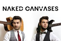 naked canvases band