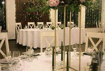 Dekoracje sala weselna