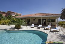 Vill's with a private pool / A selection of villa's with a private pool on Curacao