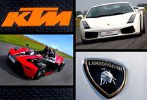 Lamborghini i KTM / Jazda na torze wyścigowym w Ułężu