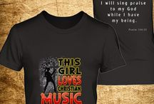 Christian Music Shirts / Celebrate Christ through Music!  Click Here to Purchase => http://discipletee.com/store Are you a Virtuous Woman of God who is passionate in making music for the Lord? Then, this shirt best represents you. Reserve one now!  ** Tag Your Friends! **