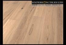 Engineered Wood Flooring / The Hyperion Tiles wood flooring range.