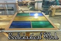 Custom Crafted and Restored Ecclesiastical Woodwork
