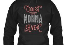 NONNA HOODIES / Nonna hoodies gift for her!