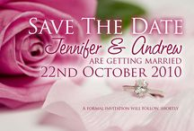 Save The Date Wedding Cards /  Send a personalise Save The Date Card to announce your upcoming Wedding.