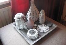 Crochet of Grandma Marietje / Crochet | Gehaakte flesjes | gehaakte potjes | gehaakte pannenlappen