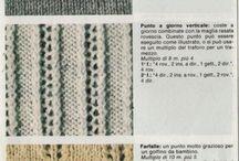 Punti maglia/uncinetto