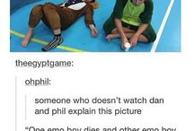 Dan and Phil, the most Phan(fucking)tastic youtubers!