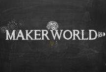 MAKERWORLD WALLPAPER / WALLPAPER MADE MAKERWORLD