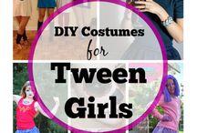 """Costume Ideas For Tween! / Here is the """"It"""" halloween costume list for us tween girls!"""