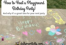 marcella's 3rd bday playground themed birthday party
