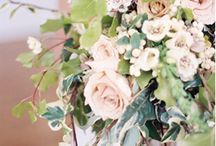 muted centerpieces / by Mallory Joyce Design