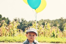 Luke's 1st bday pics / by Amy Showalter