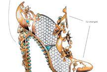 ilustración zapatos
