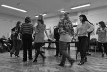 Sunset Boulevard Rehearsal Photos / The Blackpool Operatic Players busy in rehearsal for Andrew Lloyd Webber's world-renowned musical Sunset Boulevard.