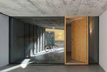 AW doors entrance
