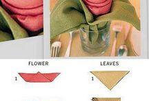 Decoracion mesa- servilletas