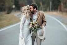 Braut-Bräutigam- Outfit
