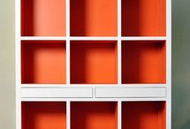 Orange theme decor