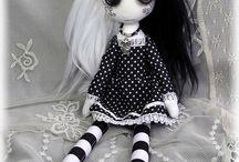 muñecaa goticas