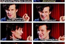 Mad man in a TARDIS / by Alishia Feaster