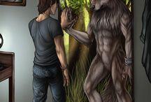 Amazing wolves & werewolves