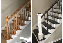 lépcső és padló