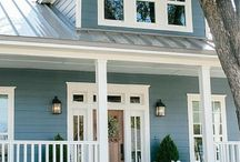 Exterior paint colour