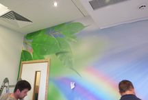 Alder Hey Project / We helped fit out a project at Alder Hey Children's Hospital recently.Using our fantastic printed wallcoverings to help transform their spaces alongside their designers.
