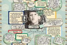 scrapbook layouts and ideas / by Tammy Ortiz