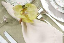 Guardanapos e Porta-guardanapos / Guardanapos e porta-guardanapos combinados ou não para inspirar a montagem de mesas especiais e cheias de carinho em detalhes!