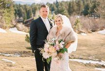 Ruffled Blog | Elegant Colorado Winter Wedding
