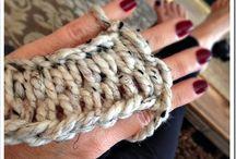 Cute Finger Knitting!