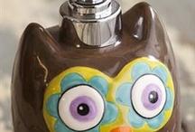 Owl soap &dispenser