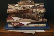 Still life - books