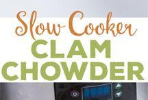 Clam chowder recipe's