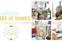 Picket Fence: Parade of Homes Tours / Come take a tour of amazing homes belonging to your favorite bloggers!  / by At The Picket Fence