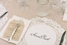 Wedding Table Top Love