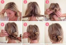 Hurrr / Cute hair styles / by Kaylin Tally