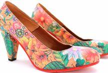 Damesschoenen van Shoelia / Damesschoenen van Shoelia, kleurrijk en opvallend.