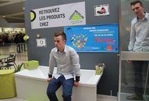 La Petite Maison dans la Galerie / Projet de la vente d'équipement de réaliser une petite maison dans la Galerie Du Cotentin en partenariat avec Leroy Merlin, Atelier Broc Indus, Fly, LC Informatique, Canon